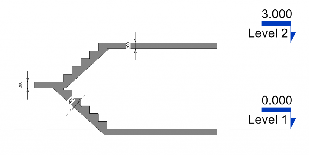 in-place stair