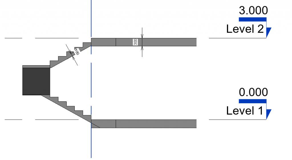 cast in-situ stair