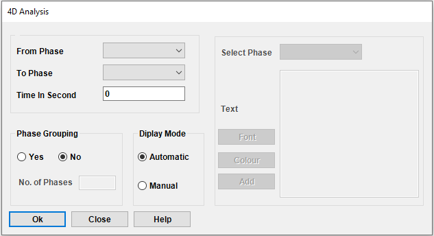InstaSys for 4d in Revit dialogue box